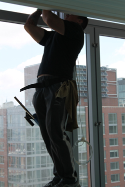Residential window cleaning NYC