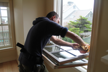 Residential Window Cleaning Brooklyn November 2012