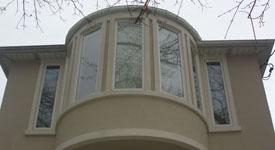 Window Washing Bay Windows